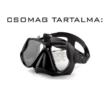 SJCAM / GoPro speciális vízi búvár szemüveg maszk akciókamerához sportkamerákhoz - fekete SJ/GP-DM1