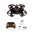 JJRC H56 interaktív drón quadcopter (drone, rc mini quadrokopter gesztus érzékelő vezérléssel) - piros