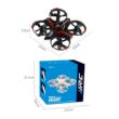 JJRC H56 interaktív drón quadcopter (játék kategória - engedély nélkül használható) (8.5cm 2.4GHz RC) - piros