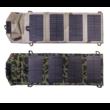 GGX-F7W4I 7,2W napelemes profi hordozható összecsukható solar töltő (monocrystalinne GGX Energy USB 5V 1.2A (max) 54.5x17cm) zöld terepszínű