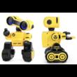 JJRC R13 CADY WIRI RC távirányítós robot 24cm programozható interaktív játék okosrobot (intelligens hang,- érintésvezérléssel) - sárga