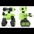 JJRC R13 CADY WIRI RC távirányítós robot 24cm programozható interaktív játék okosrobot (intelligens hang,- érintésvezérléssel) - zöld