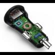 Hama autós usb töltő 3000 mA 3 A QualComm QC 3.0 (19,5w) (178239)