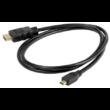 HDMI – micro HDMI adat kábel ( 1,5 m akció kamera sportkamera adatkábel)
