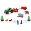 Farm szett traktorral 1/72 - Mondo Motors