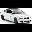 BMW M3 1:14 33cm távirányítós modell autó Rastar 48000 RTR modellautó - fehér