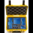 B&W koffer 500 sárga DJI Osmo Pockethez (31937)