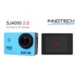 SJCAM SJ4000 sportkamera akció kamera 2 colos kijelzővel gyári kiegészítőkkel (kék)