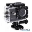 SJCAM SJ4000 WIFI akció kamera sportkamera 2 colos kijelzővel gyári kiegészítőkkel (fekete)