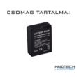 1300 mAh Li-ion tuning akku akkumulátor GoPro Hero 3 / 3+ akció kamerákhoz AHDBT-201 / 301 GP-37b