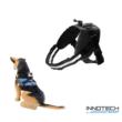 GoPro SJCAM kutyahám egy kameraállással (kutyás akció kamera rögzítő tartó kutya hám) - fekete SJ/GP-204 SJ GP-204