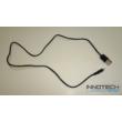 Nano USB - 2.0 USB töltő és adat kábel 80 cm (elsősorban digitális fényképezőgépekhez) - fekete