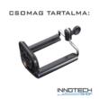 Telefon tripod monopod kiegészítő rögzítő tartó adapter 1/4'' szabvány állvány csavar csatlakozással