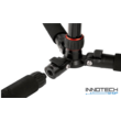 Hama TRAVELLER PREMIUM DUO 150 TRI + MONO professzionális fotó videó állvány 1560 mm (alumínium teleszkópos profi kamera monopod és tripod statív) (4265)