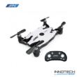JJRC H49WH SOL Selfie mini összecsukható Wifi FPV drón quadcopter (H49 WH 720P HD kamerás szelfi micro pocket) - metál fehér