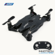JJRC H49WH SOL Selfie mini összecsukható Wifi FPV drón quadcopter (H49 WH 720P HD kamerás szelfi micro pocket) - karbon fekete