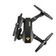 VISUO XS809HW Összecsukható Wifi FPV élőképes kamerás drón quadcopter (magyar útmutatóval XS809 HW 720P HD kamerás drón) - fekete