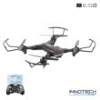 VISUO XS809S Összecsukható Wifi FPV élőképes kamerás drón quadcopter (XS809 S 720P HD kamerás drón, magyar nyelvű útmutatóval) - fekete