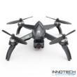 MJX Bugs 5W UPGRADE GPS Wifi 5G 4K FPV drón quadcopter 35cm 20 perc repülési idő (B5W B 5 W 4K UHD FPV Kamerás Drón 500 m, magyar útmutatóval) - fekete