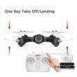Syma X23W Wifi FPV élőképes kamerás drón quadcopter 21cm 720p HD kamerás drón automata magasságtartással - fehér