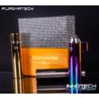 PLAZMATECH FR-P02 Elektromos tripla ív öngyújtó (szín3) (usb tesla coil arc lighter - plazma gyújtó, magyar nyelvű útmutatóval)