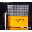 PLAZMATECH FR-P02 Elektromos tripla ív öngyújtó (szín4) (usb tesla coil arc lighter - plazma gyújtó, magyar nyelvű útmutatóval)