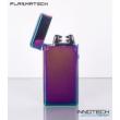 PLAZMATECH FR-609 Elektromos dupla ív öngyújtó (szín1) (usb tesla coil arc lighter - plazma gyújtó)