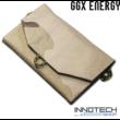 GGX-F7W4I 7,2W monocrystalinne napelemes profi hordozható összecsukható solar töltő (GGX Energy GGX F7W4I USB 5V 1.2A (max) 54.5x17cm) - sivatagi terepszínű