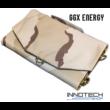 GGX-FS39W6 39W sunpower napelemes profi hordozható összecsukható töltő (GGX Energy GGX FS39W6 5V 12V 18V) - sivatagi terepszínű + solar controller
