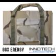 GGX-FS72W4 72W sunpower napelemes profi hordozható összecsukható töltő (GGX Energy GGX FS72W4 5V 12V 18V) - sivatagi terepszínű + solar controller