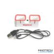 Syma X22W USB akkumulátor töltő kábellel 2x (X22W- 01) (2 akku töltés egyszerre)