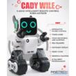JJRC R4 CADY WILE RC Robot interaktív programozható okosrobot (magyar útmutatóval intelligens hang,- érintésvezérléssel,  távirányítós játék) - szürke