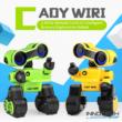 JJRC R13 CADY WIRI RC Robot programozható interaktív okosrobot (magyar útmutatóval intelligens hang,- érintésvezérléssel,  távirányítós játék) - sárga