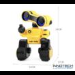 JJRC R13 CADY WIRI RC Robot 24cm programozható interaktív okosrobot (magyar útmutatóval intelligens hang,- érintésvezérléssel,  távirányítós játék) - sárga