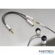 Hama Aluline elosztó audio adapter kábel 3,5mm jack (80857)