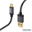 Hama Elite-Metal micro usb adat kábel 1,5m (173625)