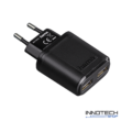 Hama Auto Detect hálózati dupla usb töltő 2400 mA 2,4 A (123544)