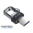 SanDisk Dual Drive m3.0 32 GB USB micro USB pendrive mobil memória 150 MB/s (SDDD3-032G-G46) (173384)