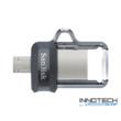 SanDisk Dual Drive m3.0 64 GB USB micro USB pendrive mobil memória 150 MB/s (SDDD3-064G-G46) (173385)