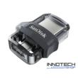 SanDisk Dual Drive m3.0 128 GB USB micro USB pendrive mobil memória 150 MB/s (SDDD3-128G-G46) (173386)
