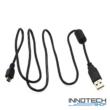 USB – mini USB töltő és adat kábel ( 0,8 m )