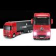 Mercedes-Benz Actros 1:26 46cm távirányítós modell kamion Rastar 77720 RTR modellautó - piros
