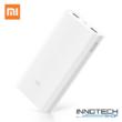 Xiaomi Mi Power bank 2C 20000 mAh QuickCharge fehér 2 C PLM06ZM (külső akkumulátor, gyorstöltő, vésztöltő, powerbank)