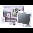 Bresser TemeoTrend JC LCD RC időjárás állomás (falióra), fehér - 73268