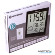 Bresser TemeoTrend JC LCD RC időjárás állomás (falióra), fekete - 73267