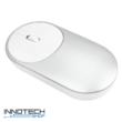 Xiaomi Mi Portable Mouse - vezeték nélküli bluetooth optikai egér 2.4G/BT (XMSB02MW , HLK4007GL) – ezüst (XMMPMS)
