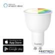 Hama okos led izzó Wifi GU10 rgb 4,5 W - szabályozható smart égő - 16 millió szín 25 W egyenértékű (176532)