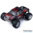 WLtoys A979 profi Off Road 4WD 50km/h 1:18 nagy sebességű RC távirányítós autó (magyar útmutatóval 50 km/h Monster Racing Truck Buggy versenyautó) - piros