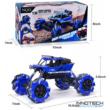 NQD 1:16 Drift Climber Rock Crawler Buggy 4WD 20km/h 26cm RC távirányítós sziklamászó off road dancer táncos játék autó 2.4GHz 757-C333 RTR - kék