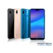 Huawei P20 Lite 64 GB / 4 GB RAM Dual Sim kártyafüggetlen okostelefon (4G LTE magyar menü) Kék